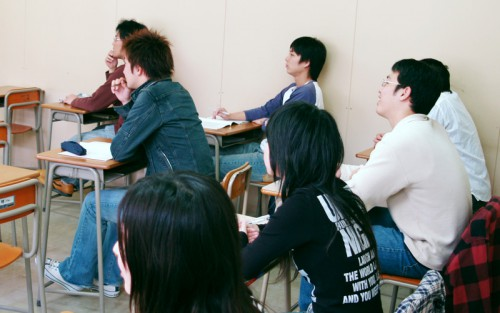予備校部ライブ授業イメージ